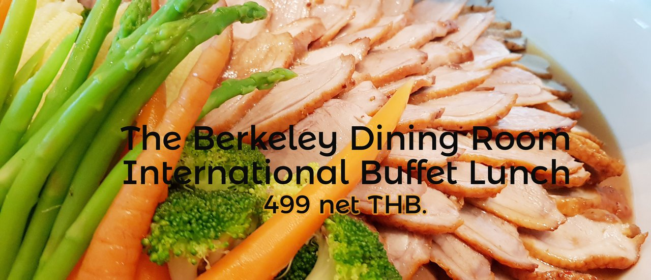The Berkeley Dining Room International Buffet Lunch 499 Net