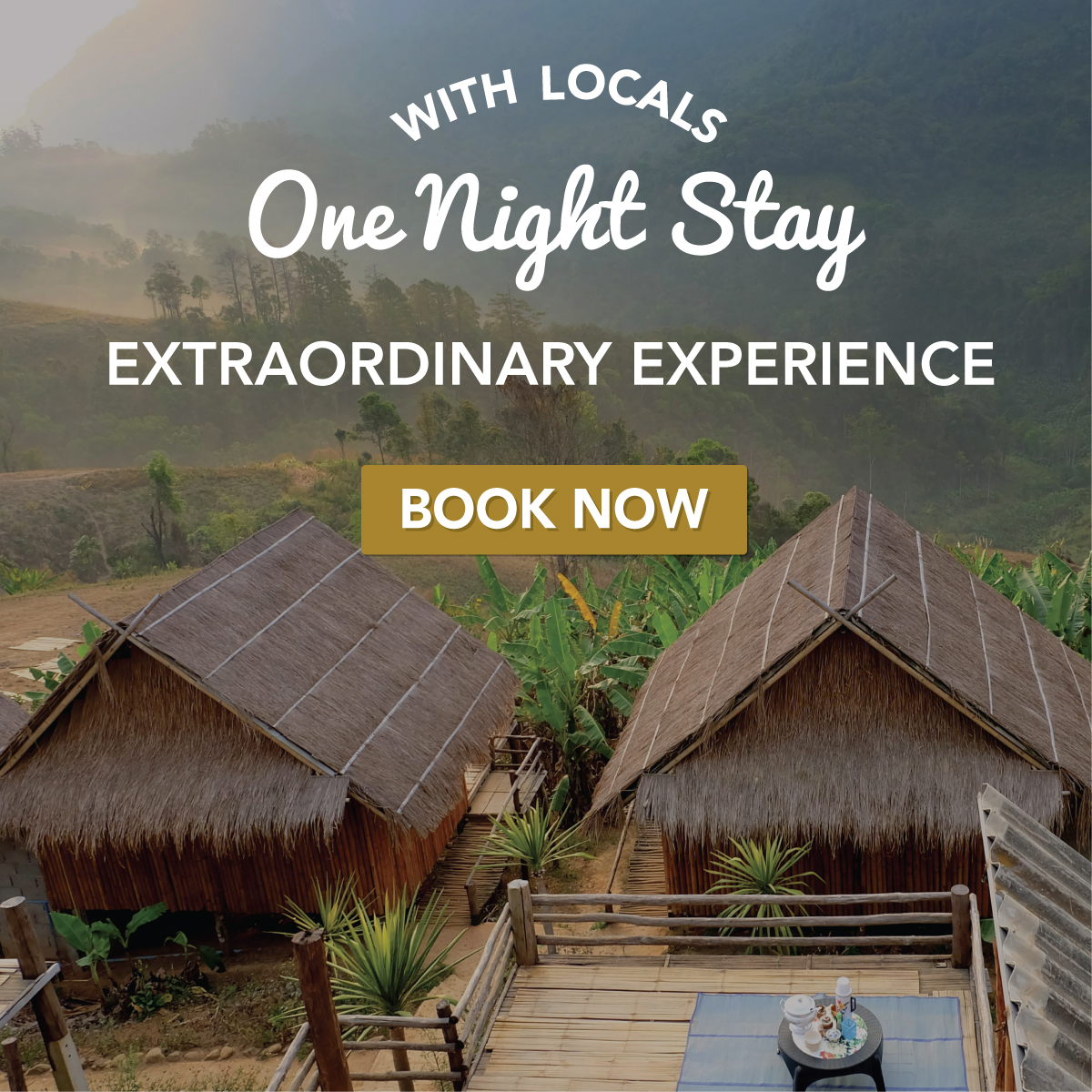 One Night Stay With Locals